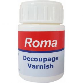 Κόλλα Roma Decoupage Varnish 150gr