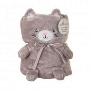 Κουβέρτα αγκαλιάς Sass & Belle Kitty Cat soft fleece BLK001