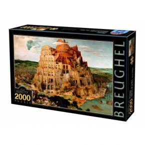 Παζλ Dtoys Brueghel the Tower of Babel 2000τεμ.