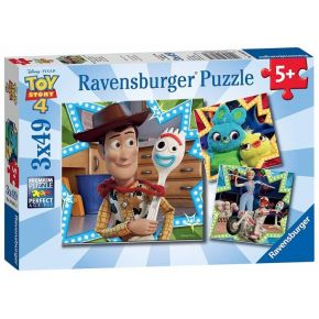Παζλ Ravensburger Toy Story 4 3x49 τεμ.