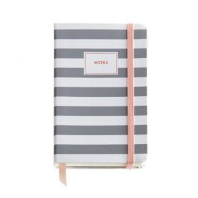Σημειωματάριο Miquelrius Rose Grey Stripes