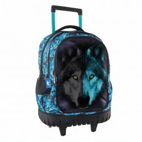 Τσάντα Trolley Animal Planet Wolf 0570681