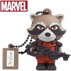 Usb Flash Drive Tribe 3D Rocket Racoon 16GB