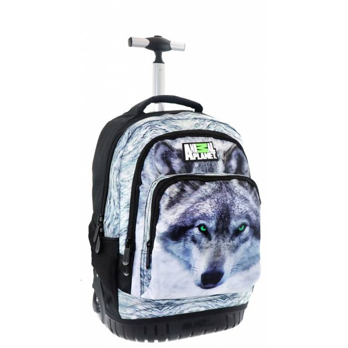 Τσάντα Trolley Animal Planet Wolf 0570658