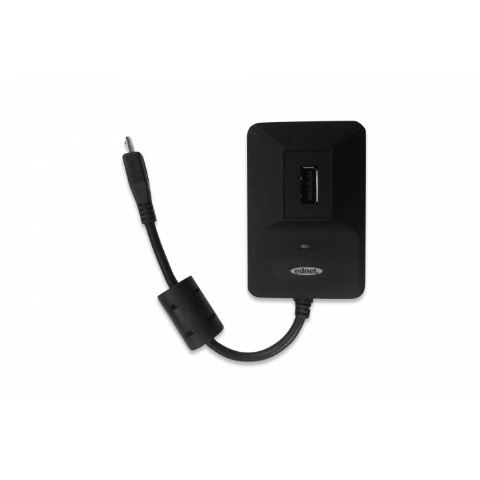 Hub & Card Reader Ednet OTG Usb 2.0 31516