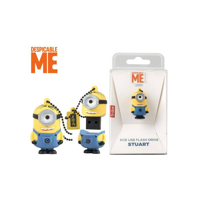 Usb Flash Drive Tribe 3D Despicable Me Stuart 8GB