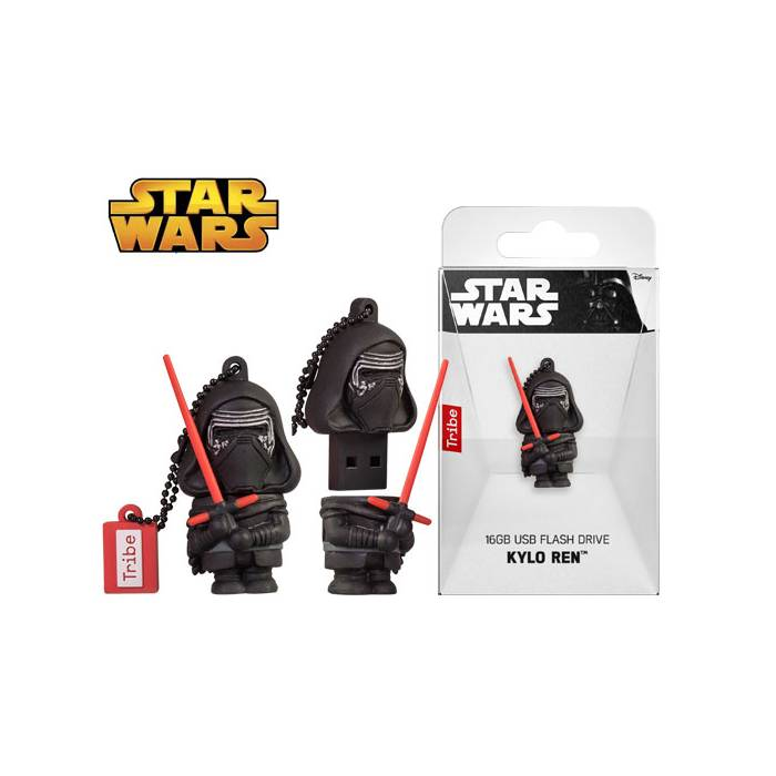 Usb Flash Drive Tribe 3D Star Wars Kylo Ren 16GB
