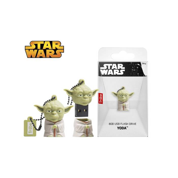 Usb Flash Drive Tribe 3D Star Wars Yoda 8GB