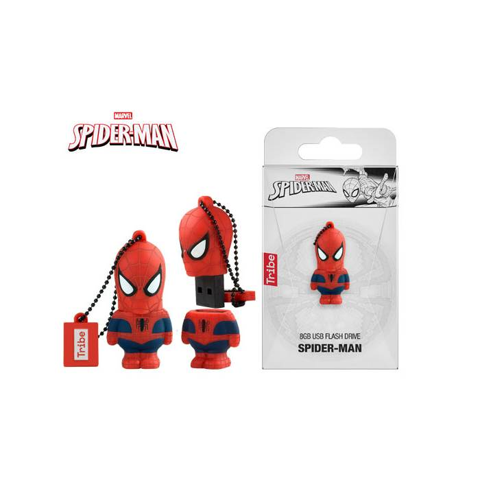 Usb Flash Drive Tribe 3D Spiderman 8GB