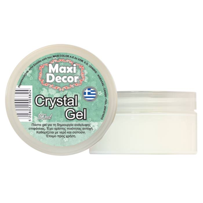 Crystal gel 100ml Maxi Decor