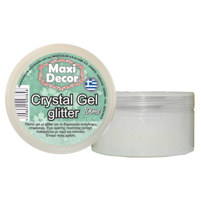Crystal gel glitter Maxi Decor 100ml