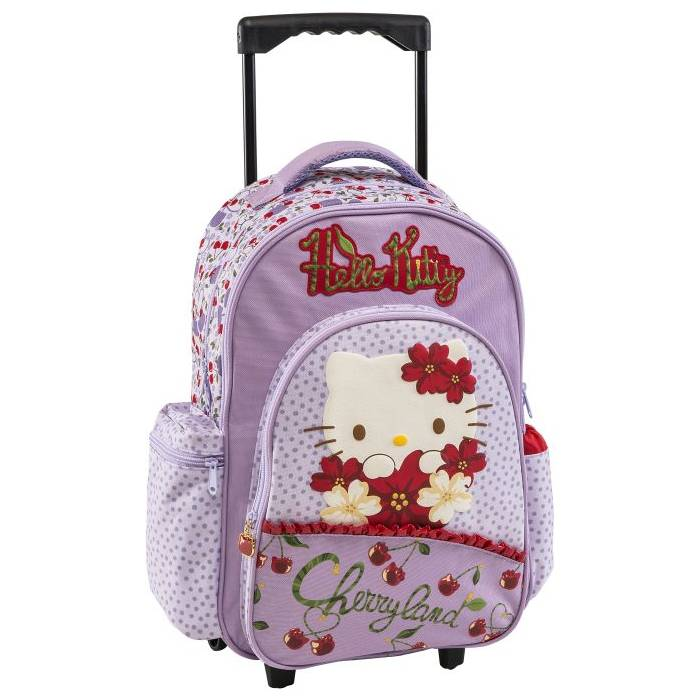 Τσάντα Trolley Hello Kitty Cherryland λιλά