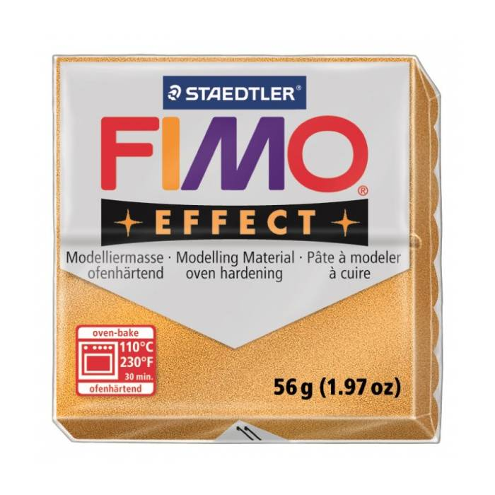 Πηλός Staedtler Fimo Effect Gold Metallic 57gr