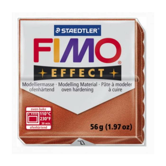 Πηλός Staedtler Fimo Effect Copper Metallic 57gr