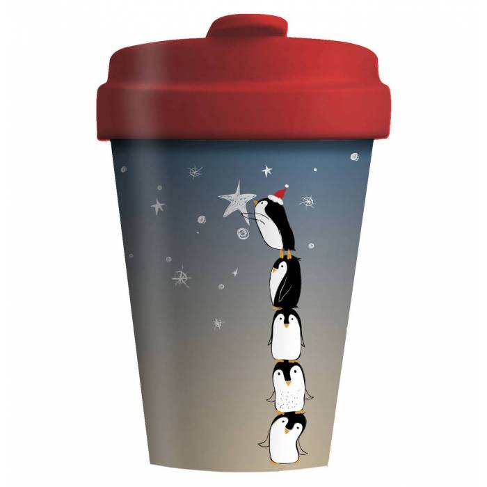 Κούπα BambooCup Limited Xmas Edition Penguin Tower