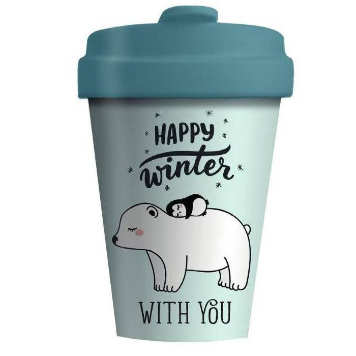Κούπα BambooCup Limited Xmas Edition Polar Friends