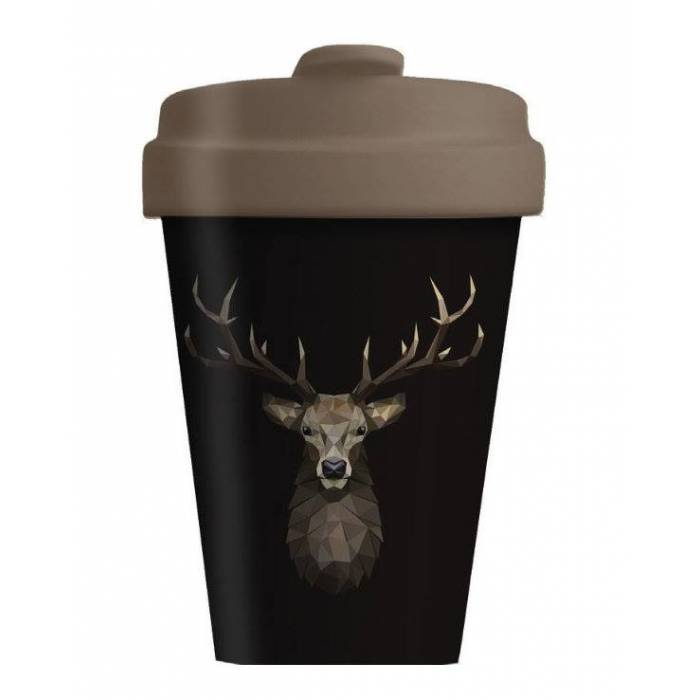 Κούπα BambooCup Limited Xmas Edition Deer On Dark