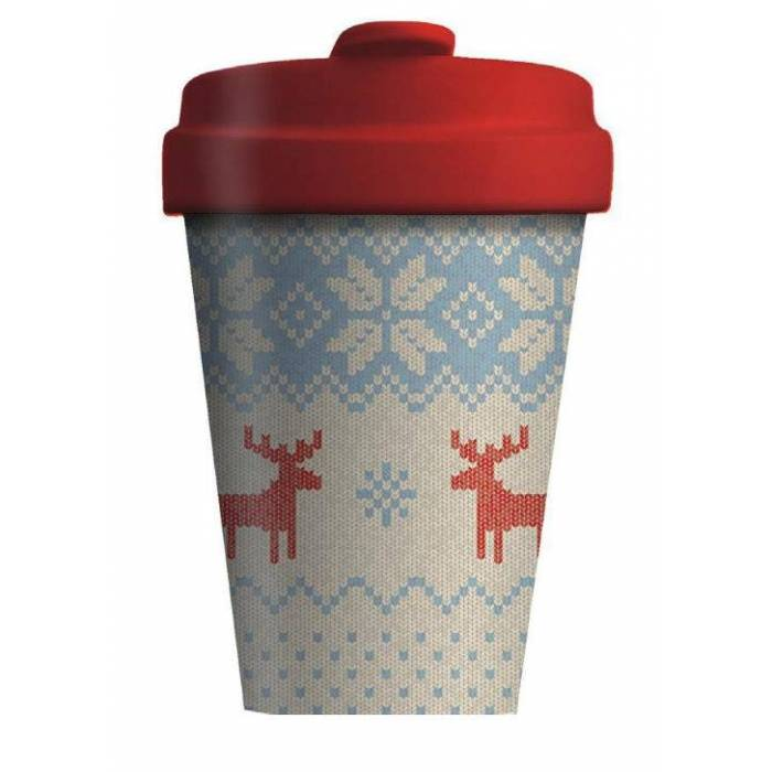 Κούπα BambooCup Limited Xmas Edition Winter Knit