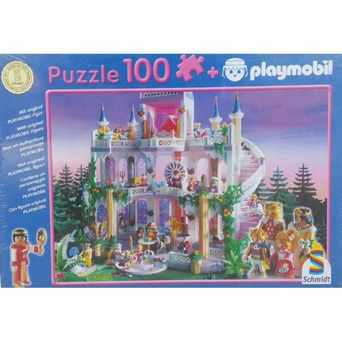 Παζλ Schmidt Playmobil Dream Castle 100 τεμ