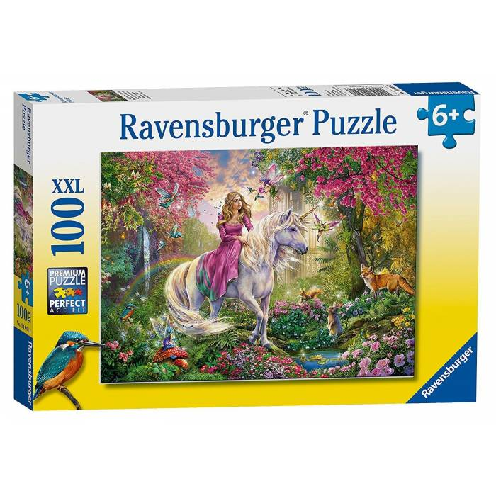 Παζλ Ravensburger Magical Ride 100XXL