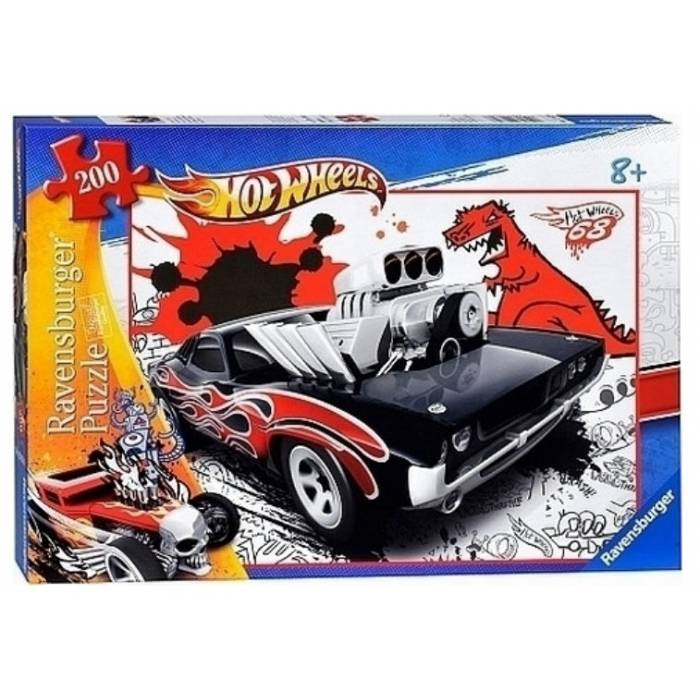 Παζλ Ravensburger Hot Wheels Hot Rod 200 τεμ
