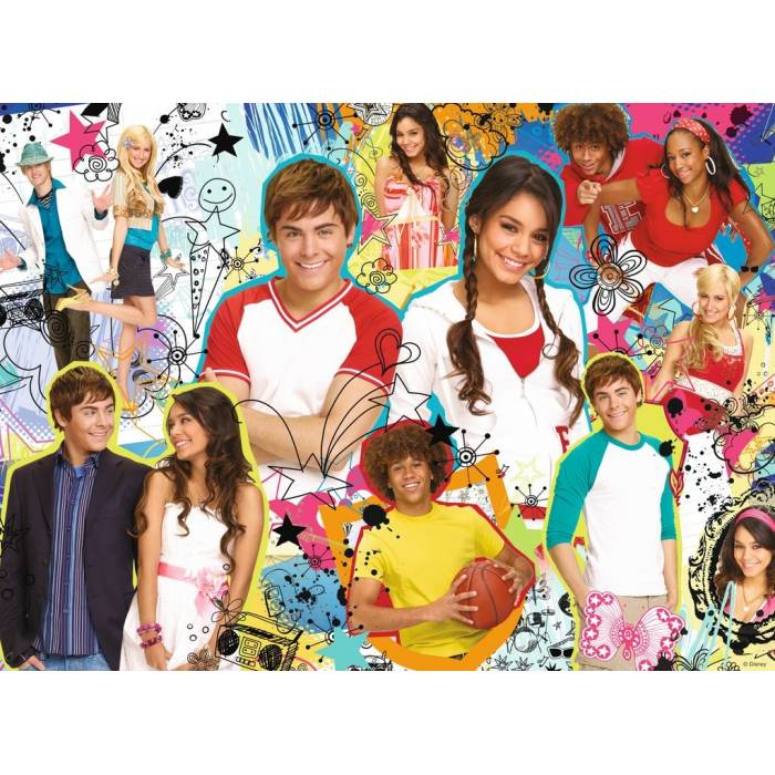 Παζλ Ravensburger High School Musical 200 τεμ