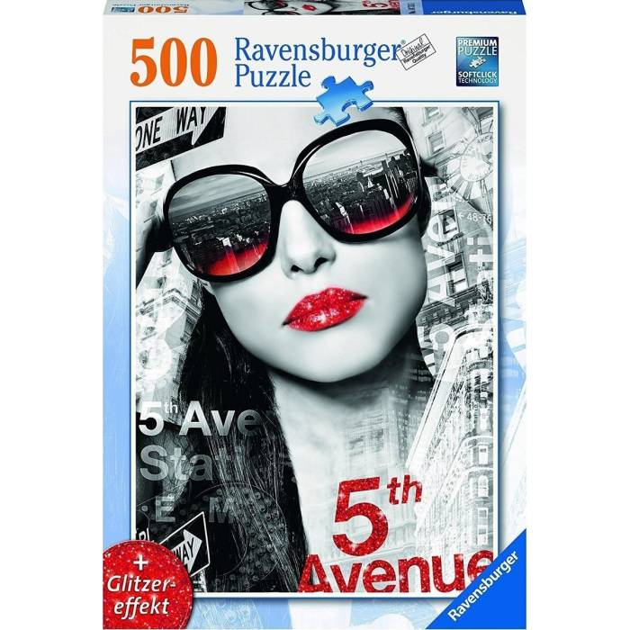 Παζλ Ravensburger Glitter Mouth 500τεμ.