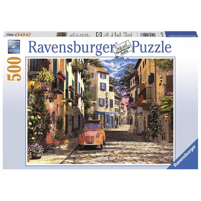 Παζλ Ravensburger In the heart of Southern France 500τεμ.