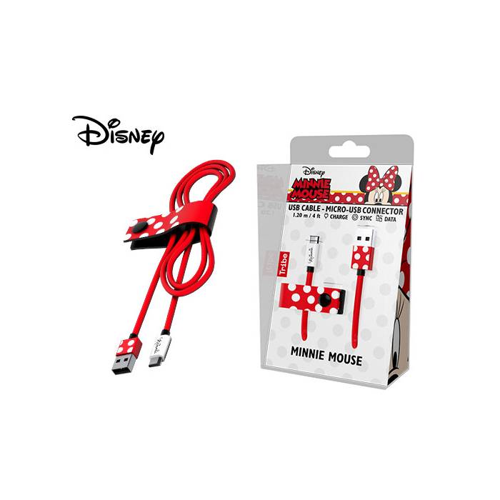 Καλώδιο Usb Micro Tribe Disney Minnie 120cm