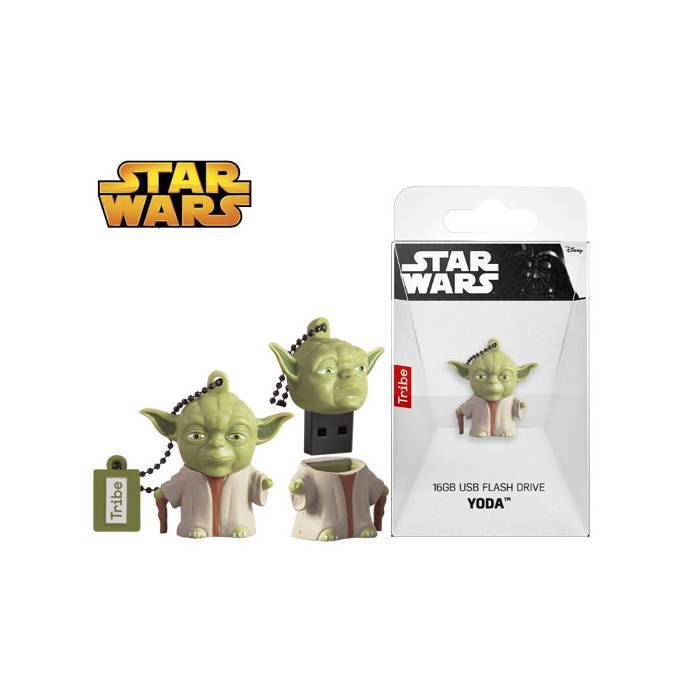Usb Flash Drive Tribe 3D Star Wars Yoda The Wise 16 GB