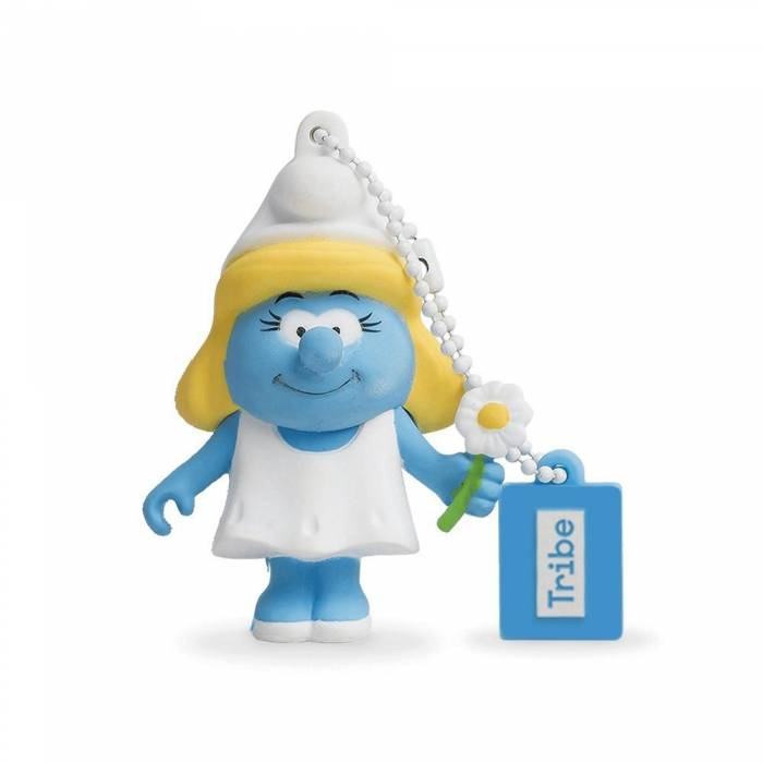 Usb Flash Drive Tribe 3D Smurfette 16GB
