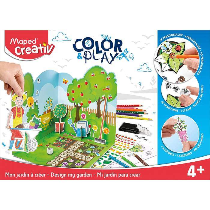 Color & Play Maped Creativ Ο κήπος μου