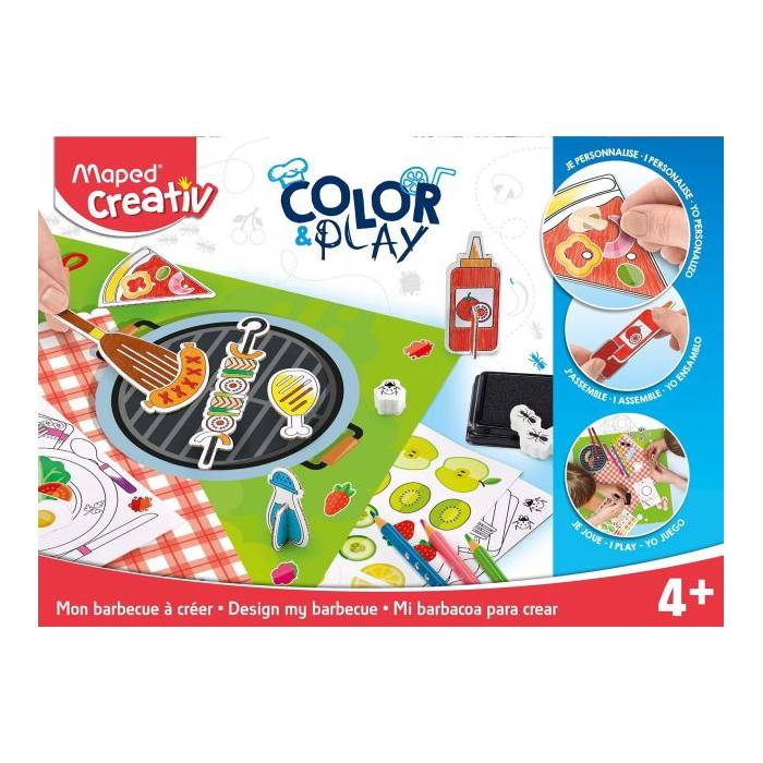 Color & Play Maped Creativ Barbeque