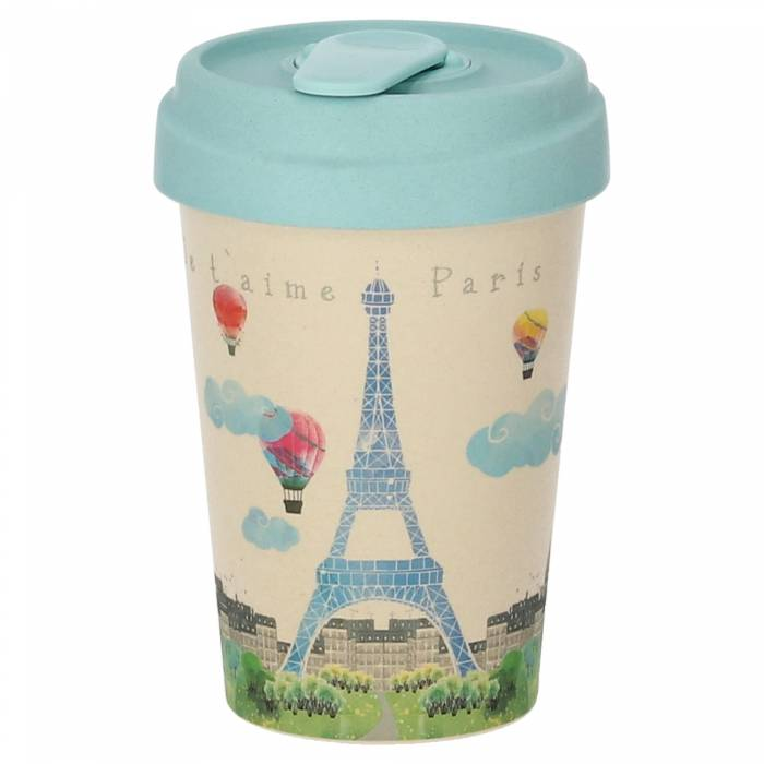 Κούπα BambooCup Paris Watercolor