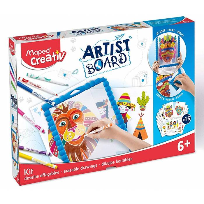 Board Artist Maped Creativ Erasable Drawings 907101