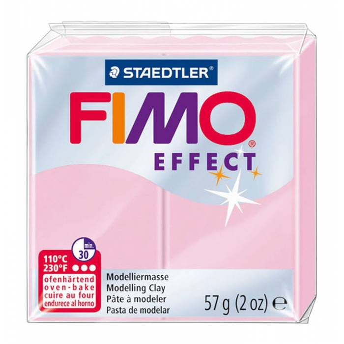 Πηλός Staedtler Fimo Effect Light Pink 57gr
