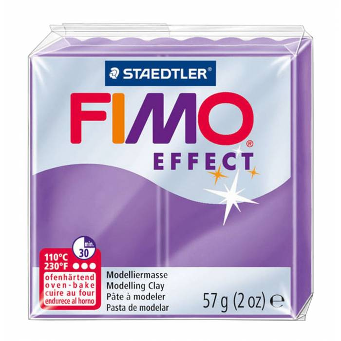Πηλός Staedtler Fimo Effect Translucent Purple 57gr