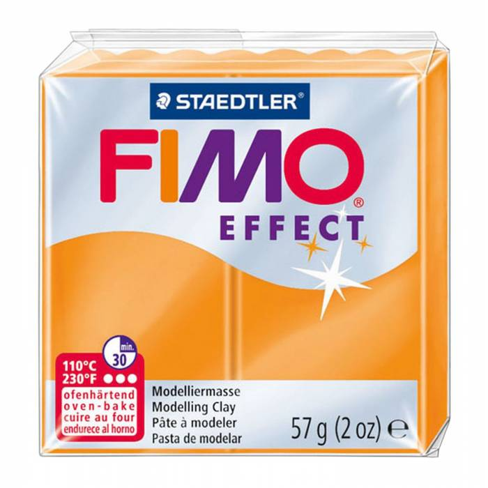 Πηλός Staedtler Fimo Effect Translucent Orange 57gr