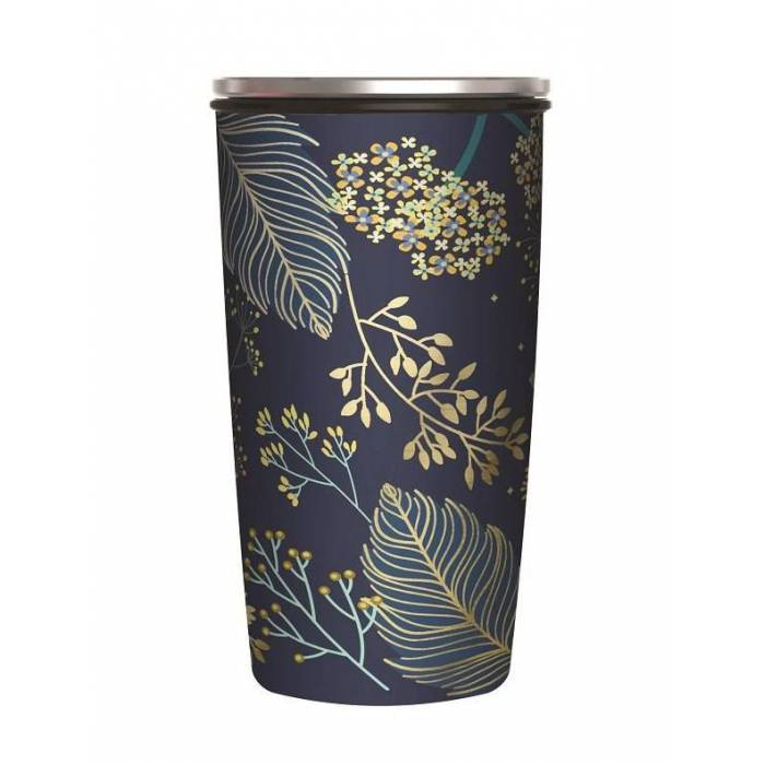 Bamboo SlideCup Golden Leaves - Gold 0.42lt